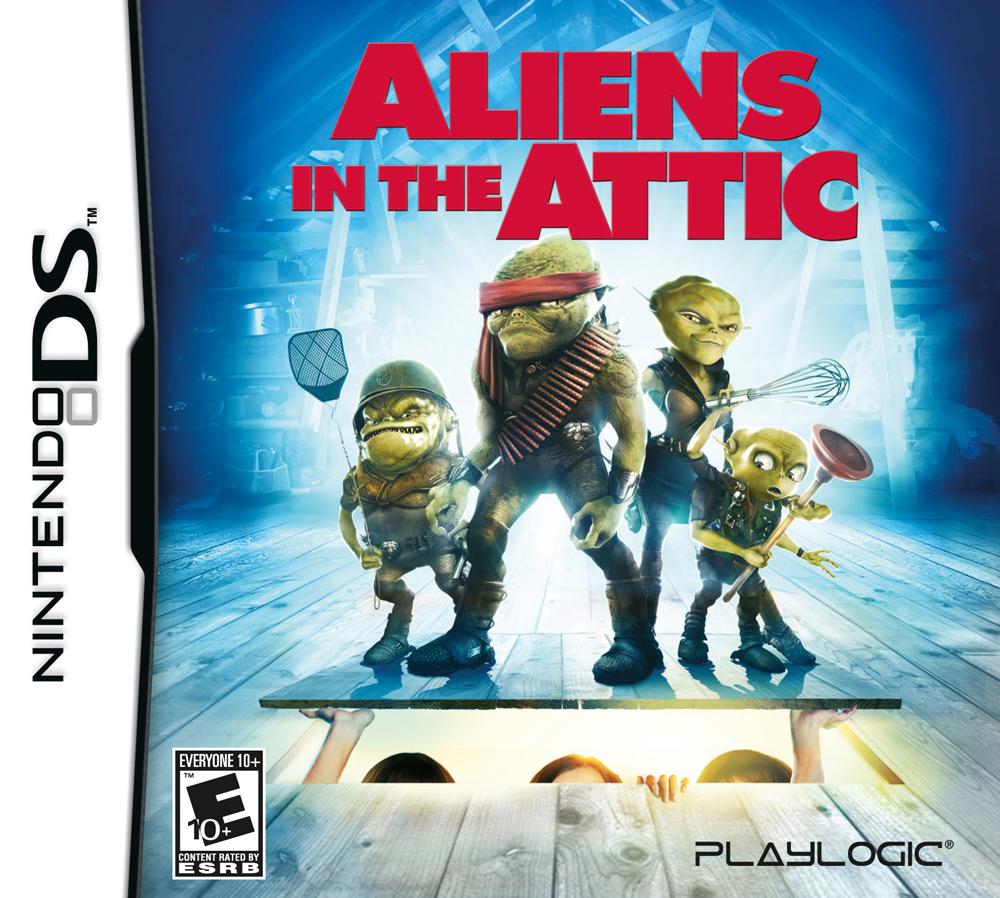 Aliens in the attic cover