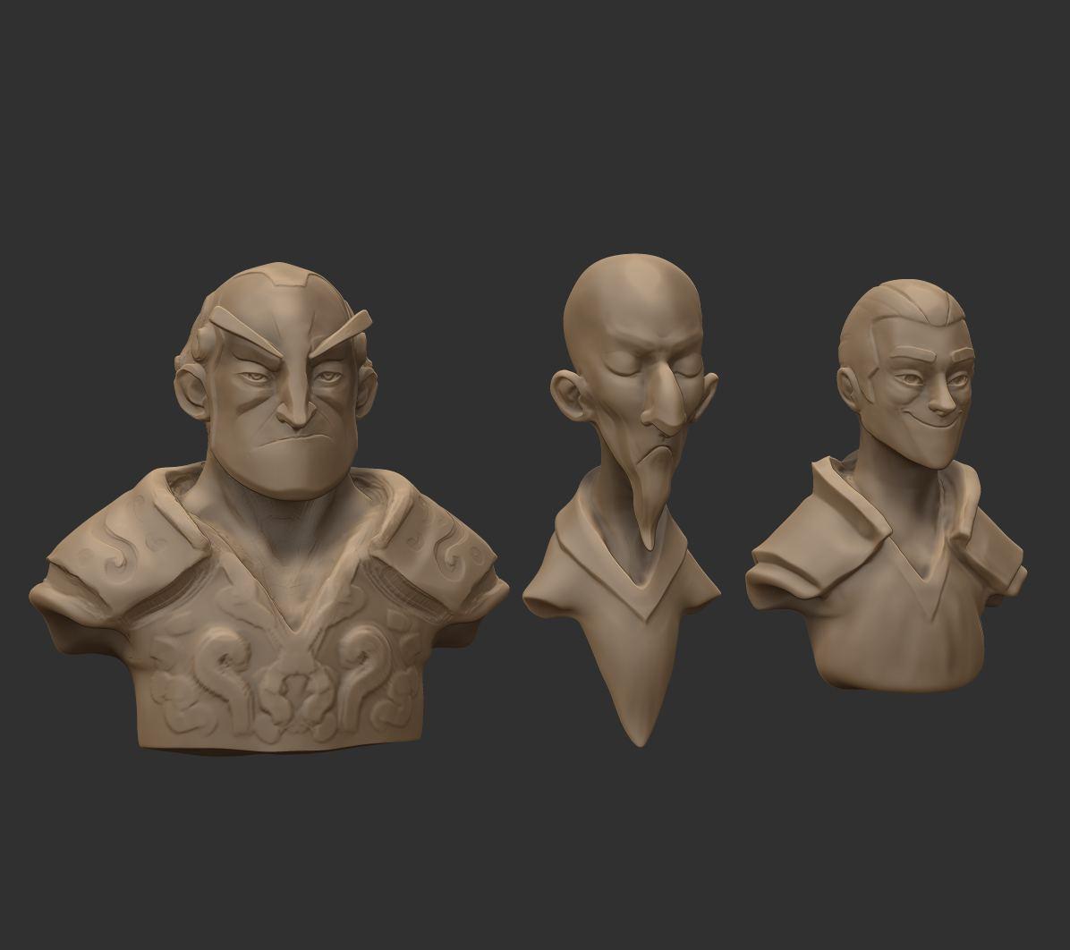 Quick sculpts for 3D artist