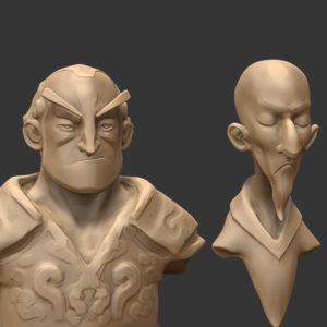 Quick char sculpt